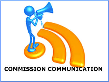 Commission communication