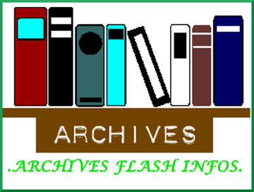 ARCHIVES FLASH INFOS