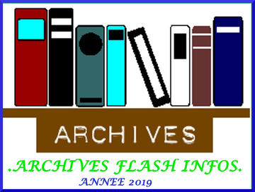 ARCHIVES FLASH INFOS :2019