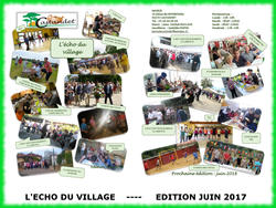 L' ECHO DU VILLAGE: JUIN 2017